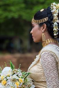 Sri Lankan bride, Sigiriya