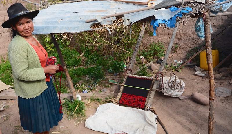 Jalq'a weaving -  Potolo