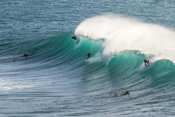 Honolua surfers