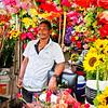 Flower Vendor in Cartagena