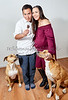Married Couple with their Two Dogs