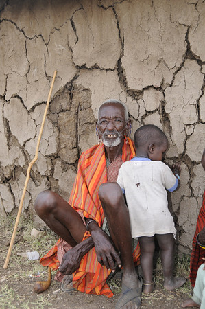 Maasai Grandfather, Maasai Mara, Kenya