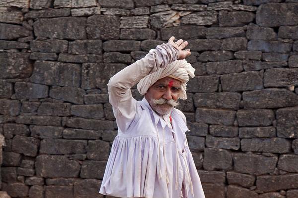 Holy man near Raipur