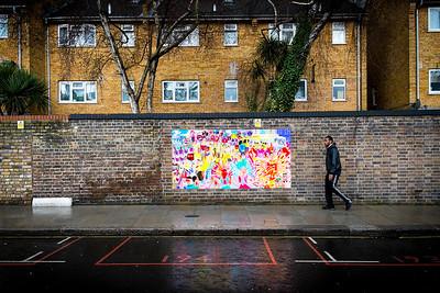 Vibrant Mural- London, England