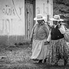 Uros Women returning from a long day in the Quinoa fields discussing the latest episode of the Walking Dead ;)