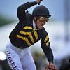 Jockey Gary Stevens Wins the 2013 Preakness