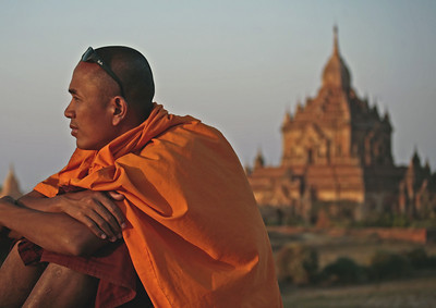 Bagan ~ Buddhist Monk