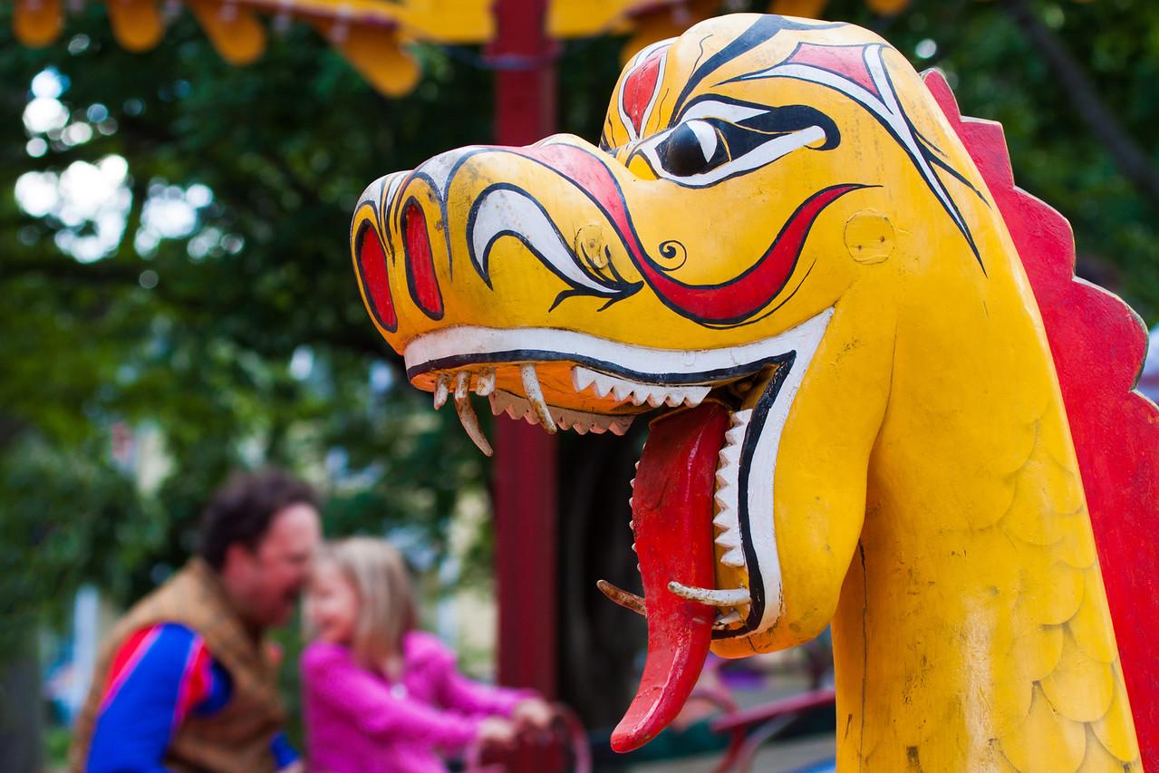 Dragon at Fete Paradiso