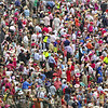 Crowd At Churchill Downs, Louisville, Kentucky