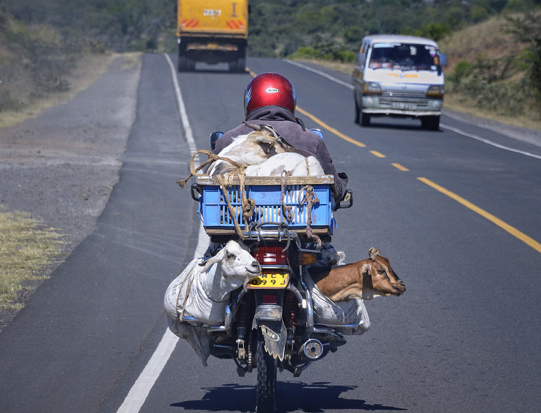 Going to Market, Nakuru, Kenya, East Africa