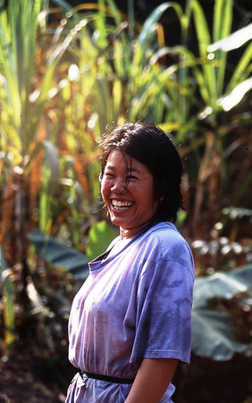 Happy Woman, Northern Thailand