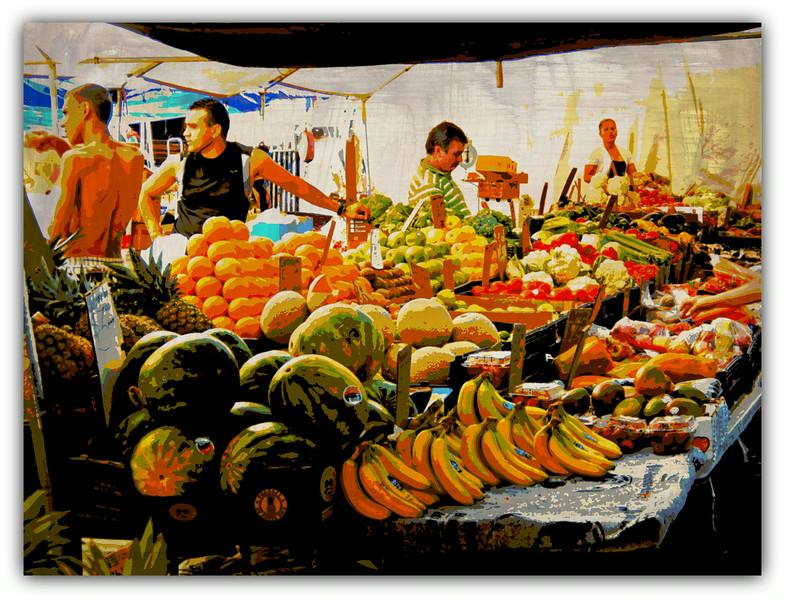 Fruit Sellers, Haymarket