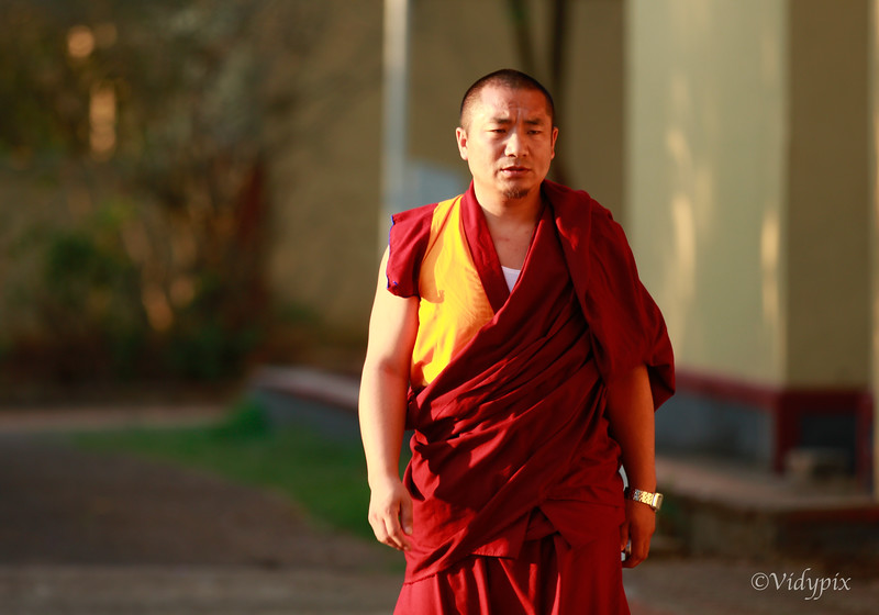 A Monk.