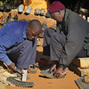 Making Shoes Near Arusha, Tanzania, East Africa