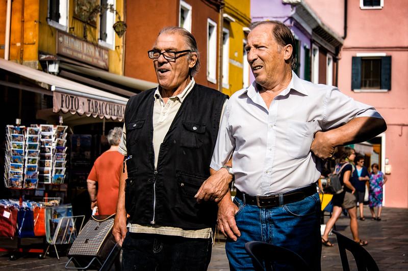 Two Gentlemen of Burano