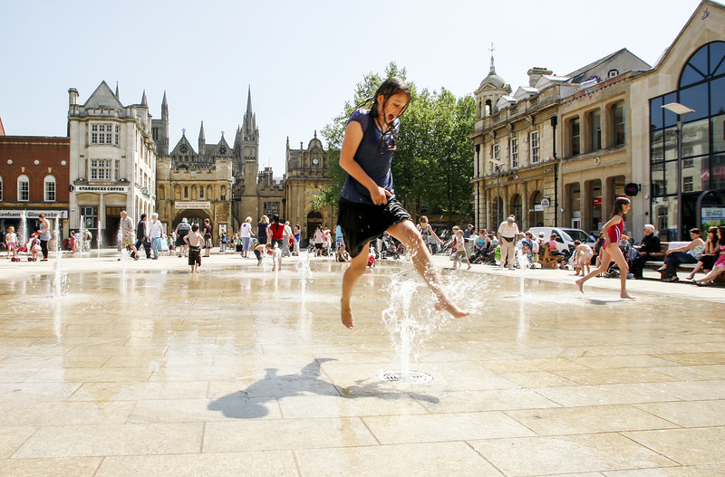 Jump, Cathedral Square, Peterborough, LDA Design