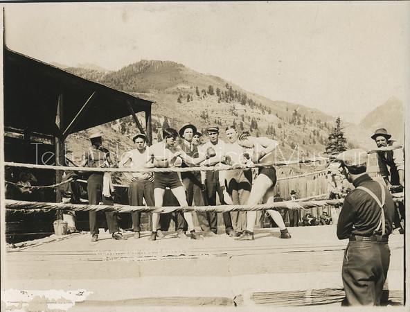 1995-30-01: Jack Dempsey And Pat Malloy At Davis Park Sparring July 4, 1910
