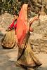 Woman in sari