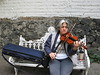This woman was playing her violin in a park in Mexico City and agreed to let me photograph her.
