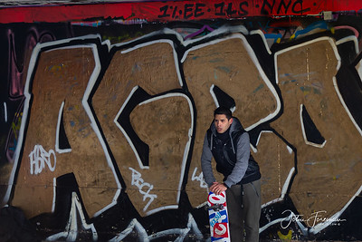 Skateboarder, Southbank