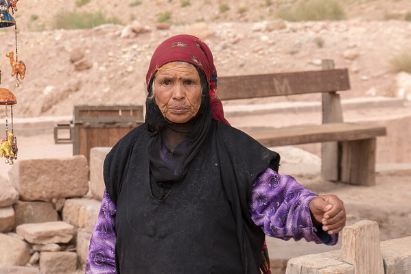 Bedouin vendor