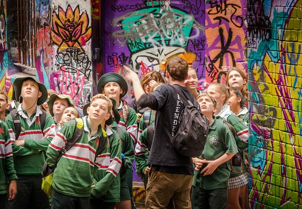 Art Appreciation Class - Laneways Of Melbourne, Austrailia