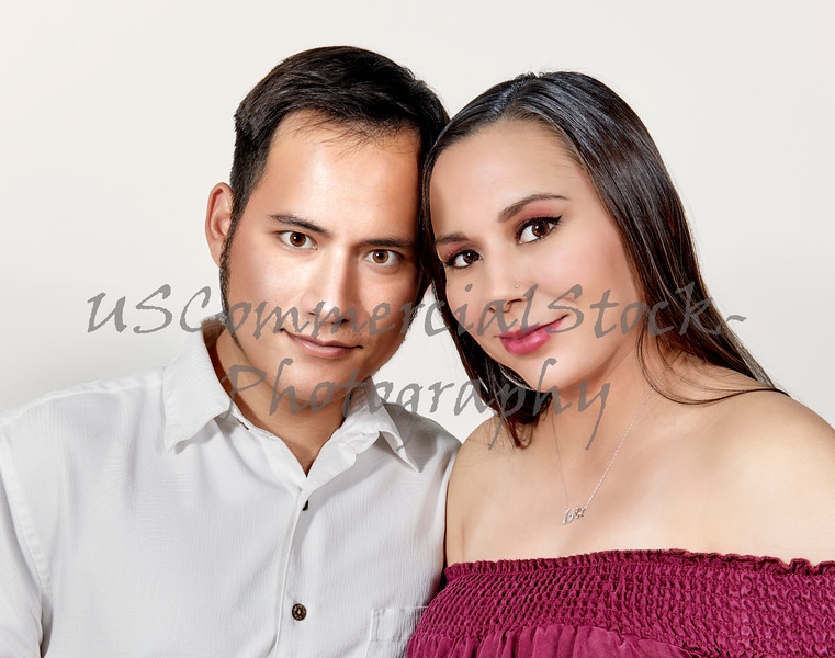 Portrait of an Attractive Young Couple