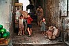 Israel, Jerusalem, Old City, Children in Alley (2)