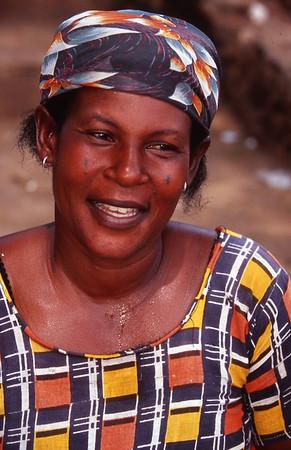 Fish Monger, Fishing Village, Ghana