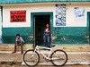 While volunteering in the village of Muchucxcah, in the Yucutan, Mexico, I photographed these street scenes.