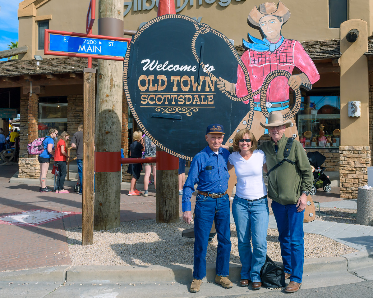 Cowboys and Cowgirl at Parada del Sol, Scottsdale AZ (14 February 2015)