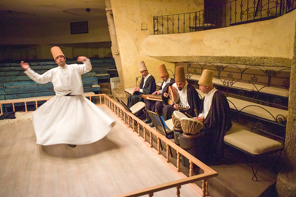 Whirling Dervish in Turkey