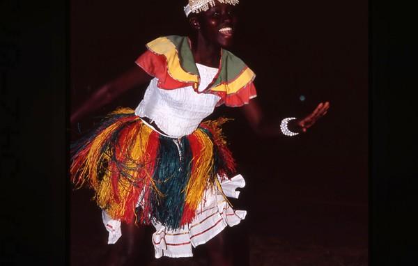 Dancer, Zanzibar, Tanzania