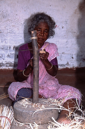 Basketmaker, Kanchipooram, India