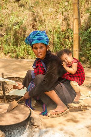 Peaceful sleeper, Myanmar