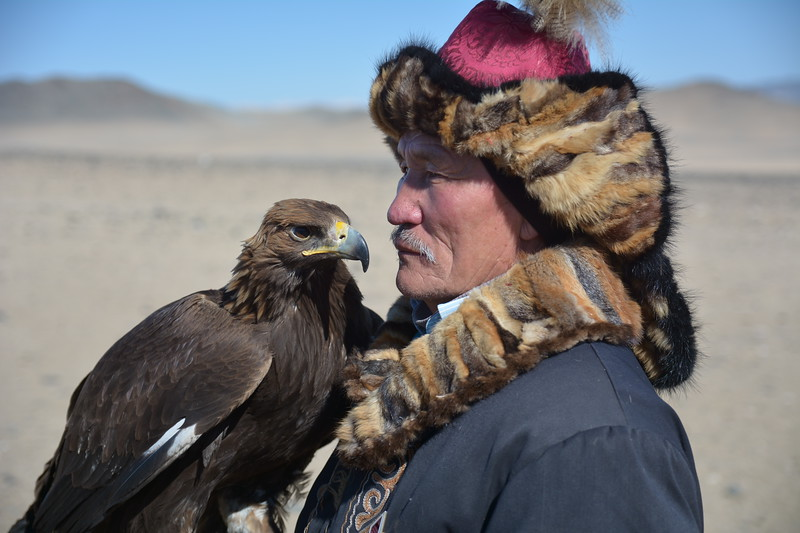 Kazakh and his Golden Eagle