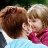 A Mother & Daughter's Joyful Moment.