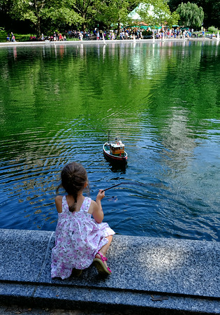 Boat Pond Central Park NYC