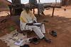 91 Year Old Imam Copying Koran, Larabanga, Ghana