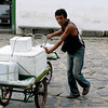 Brazilian man. Labor is still very manual in many parts of the world.