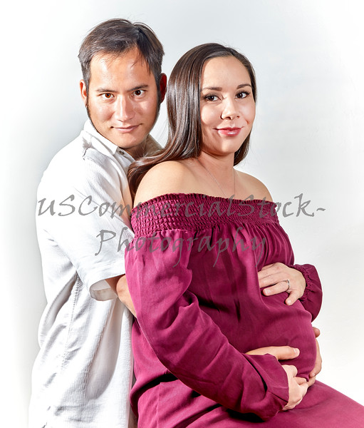 Young Couple expecting their First Child