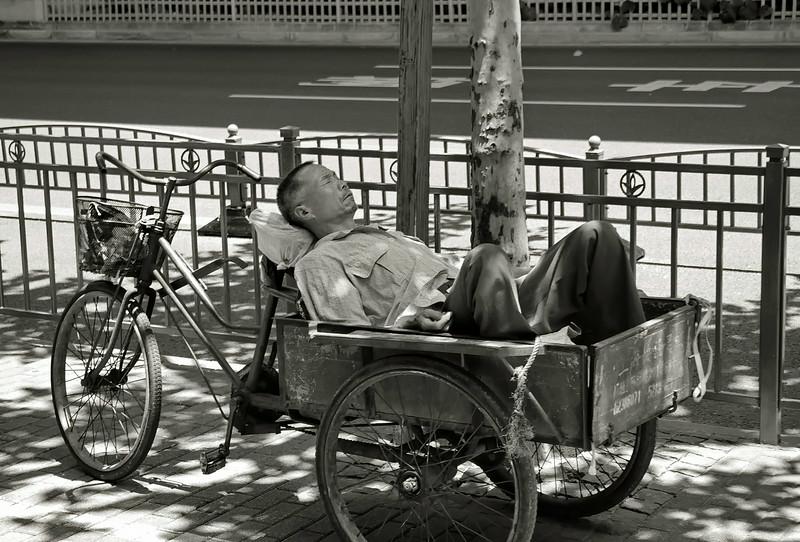 Relaxing in Shanghai