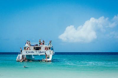 Flamenco Beach Boat