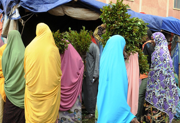 Women Khat Buyers and Sellers