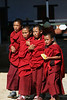 Novice monks, Bhutan