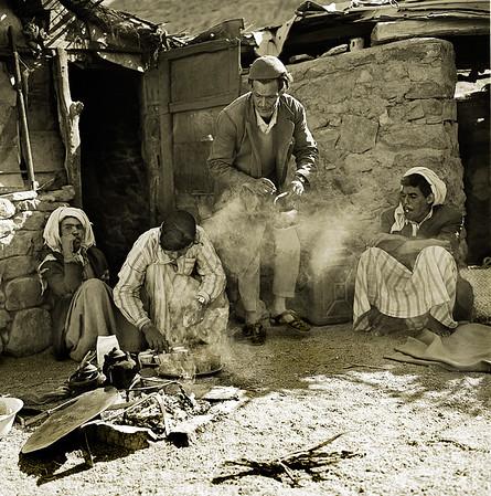 Tea at Bedouin Oasis
