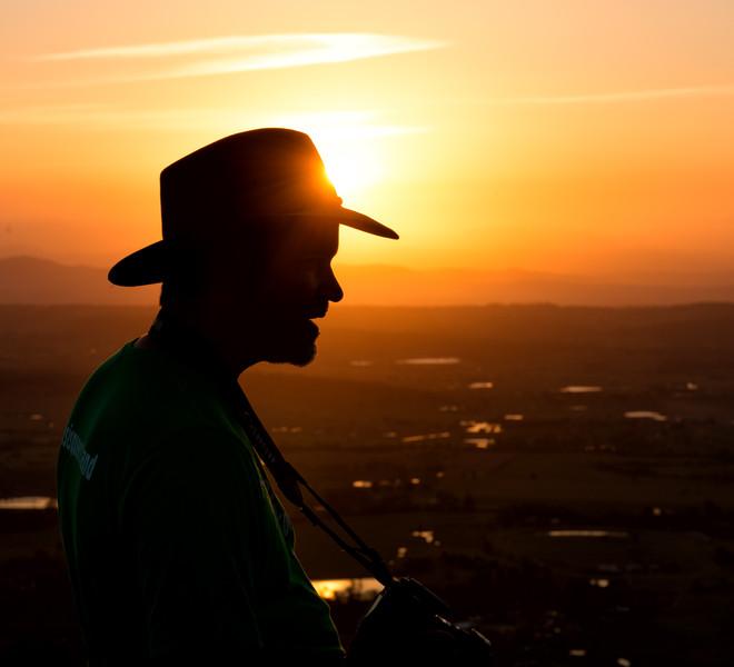 Akubra Sunset