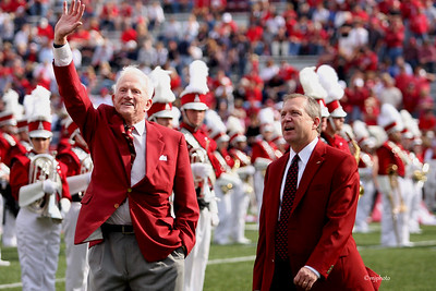 Frank Broyles and Jeff Long