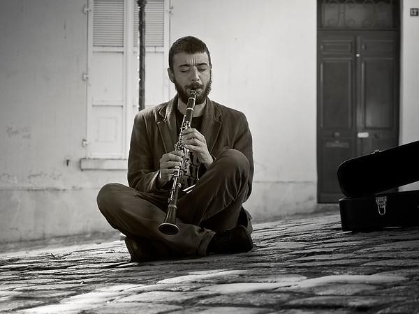 Clarinet Player - Paris