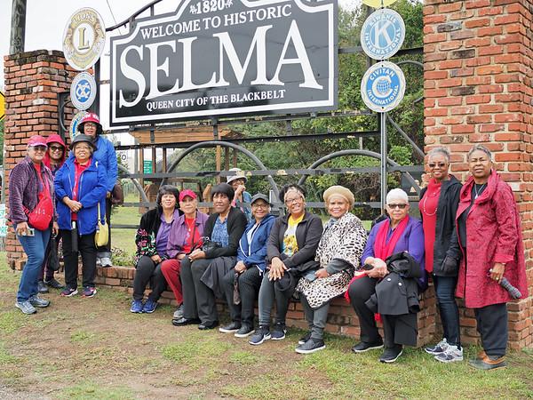 Women At The Edmund Pettus Bridge